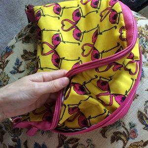 Betsey Johnson Bags - Betsey Johnson Flamingo Crossbody Bright Bag